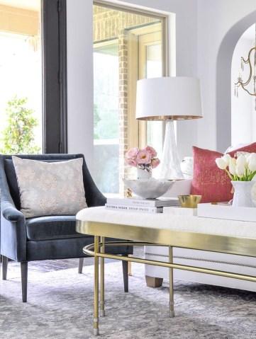 Stunning Romantic Living Room Decor 20