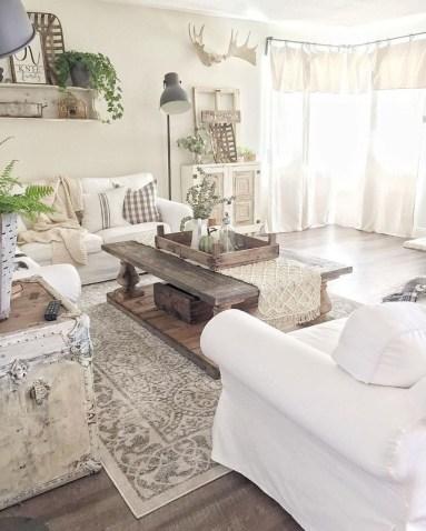 Stunning Romantic Living Room Decor 21