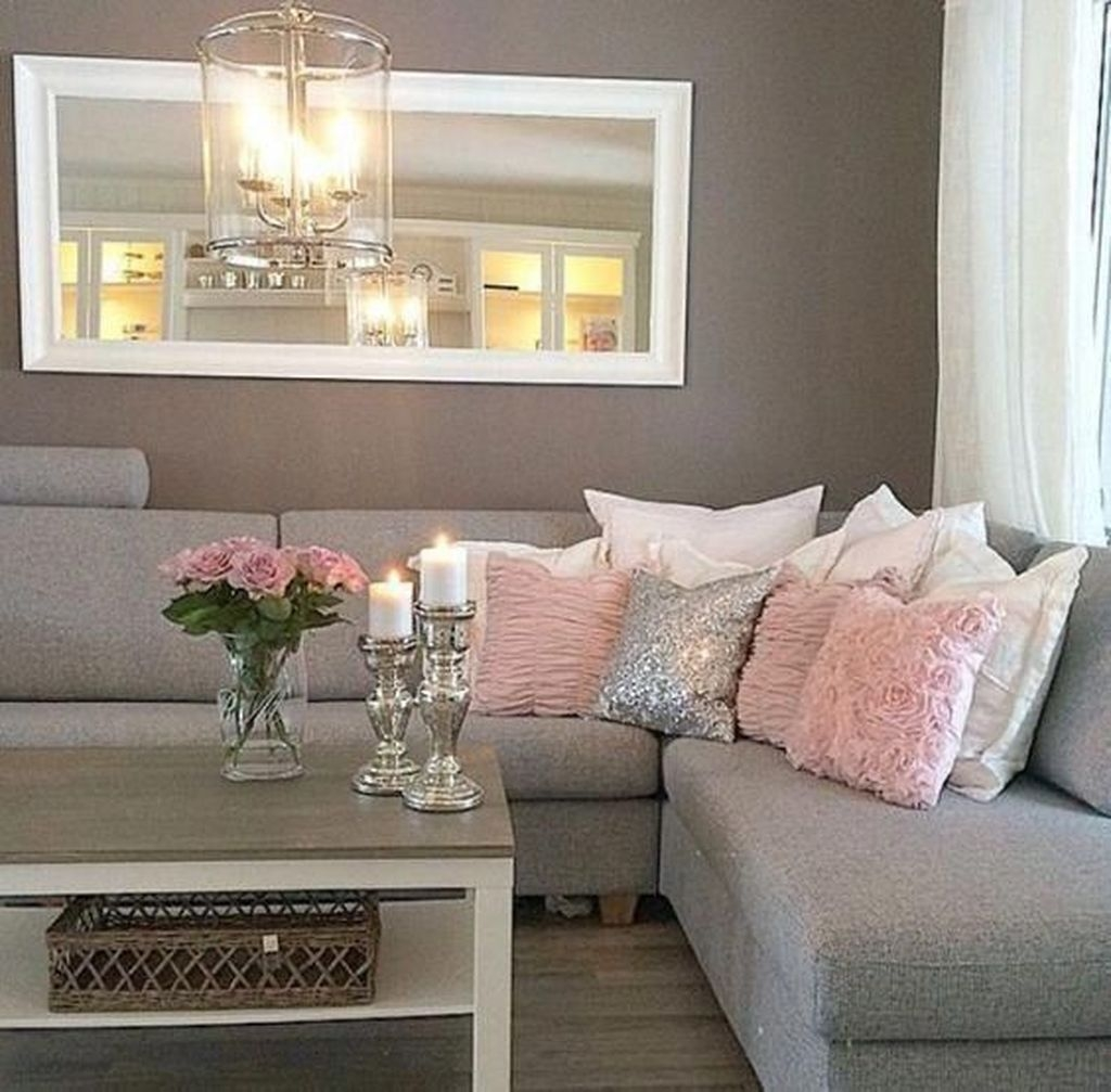 Stunning Romantic Living Room Decor 49
