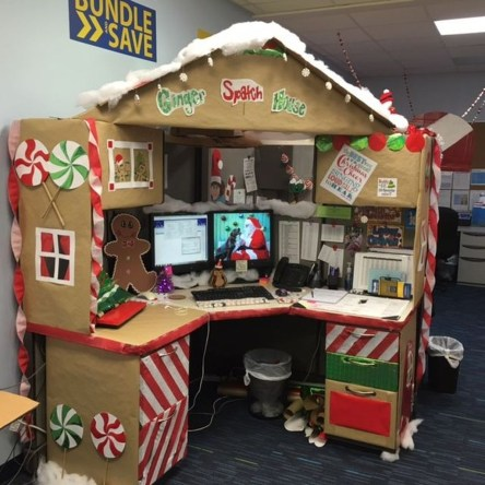 Stunning Winter Office Decorations That You Can Easily Make 01