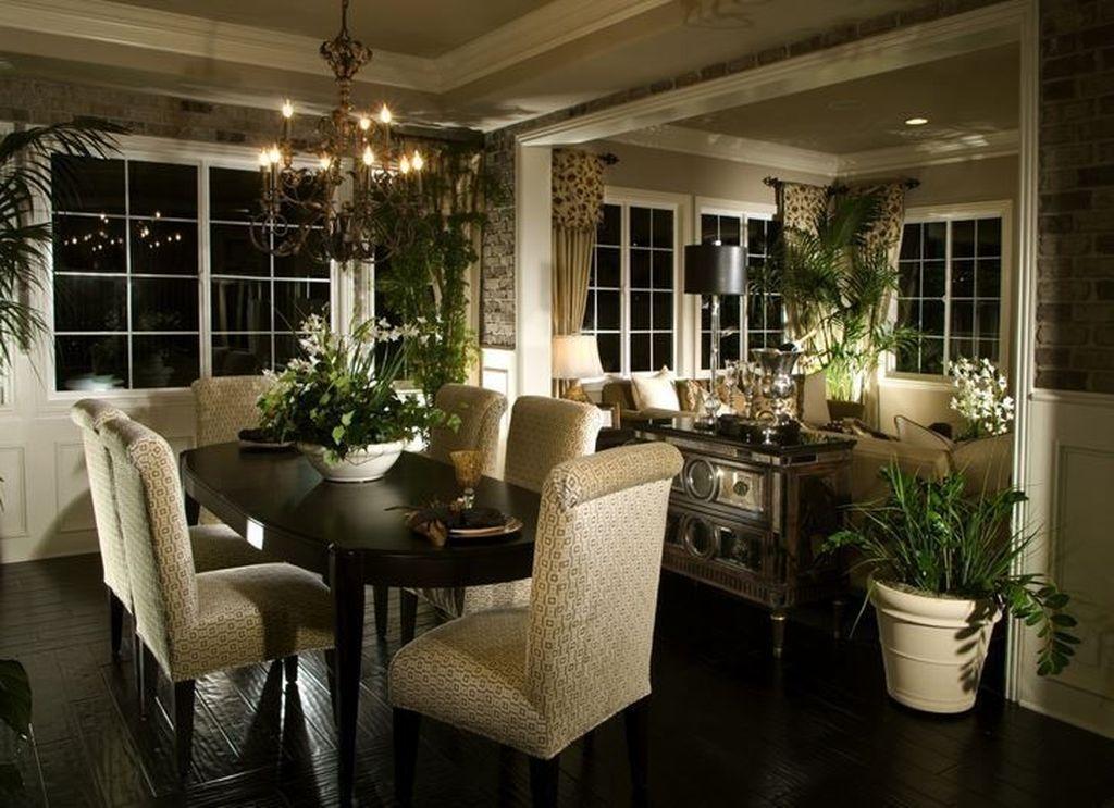 Sweet Romantic Dining Room Decor 01