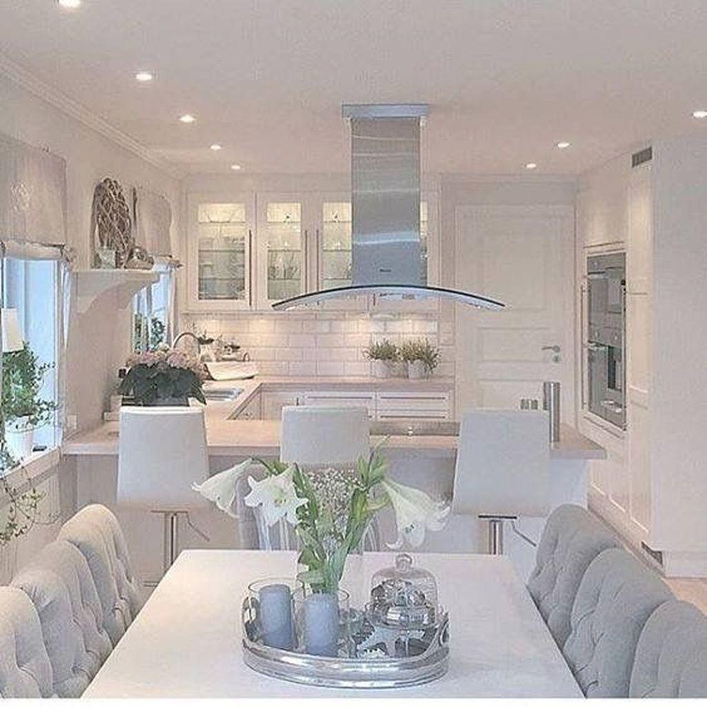Sweet Romantic Dining Room Decor 03
