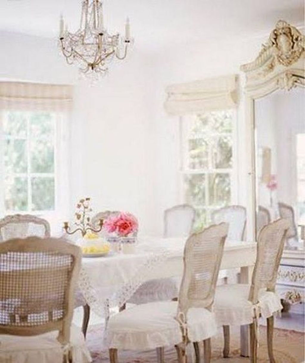 Sweet Romantic Dining Room Decor 05