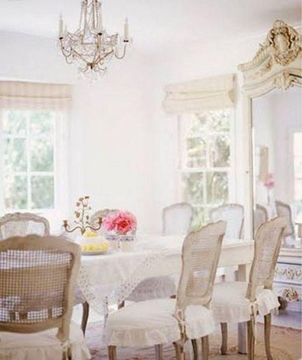 Sweet Romantic Dining Room Decor 05