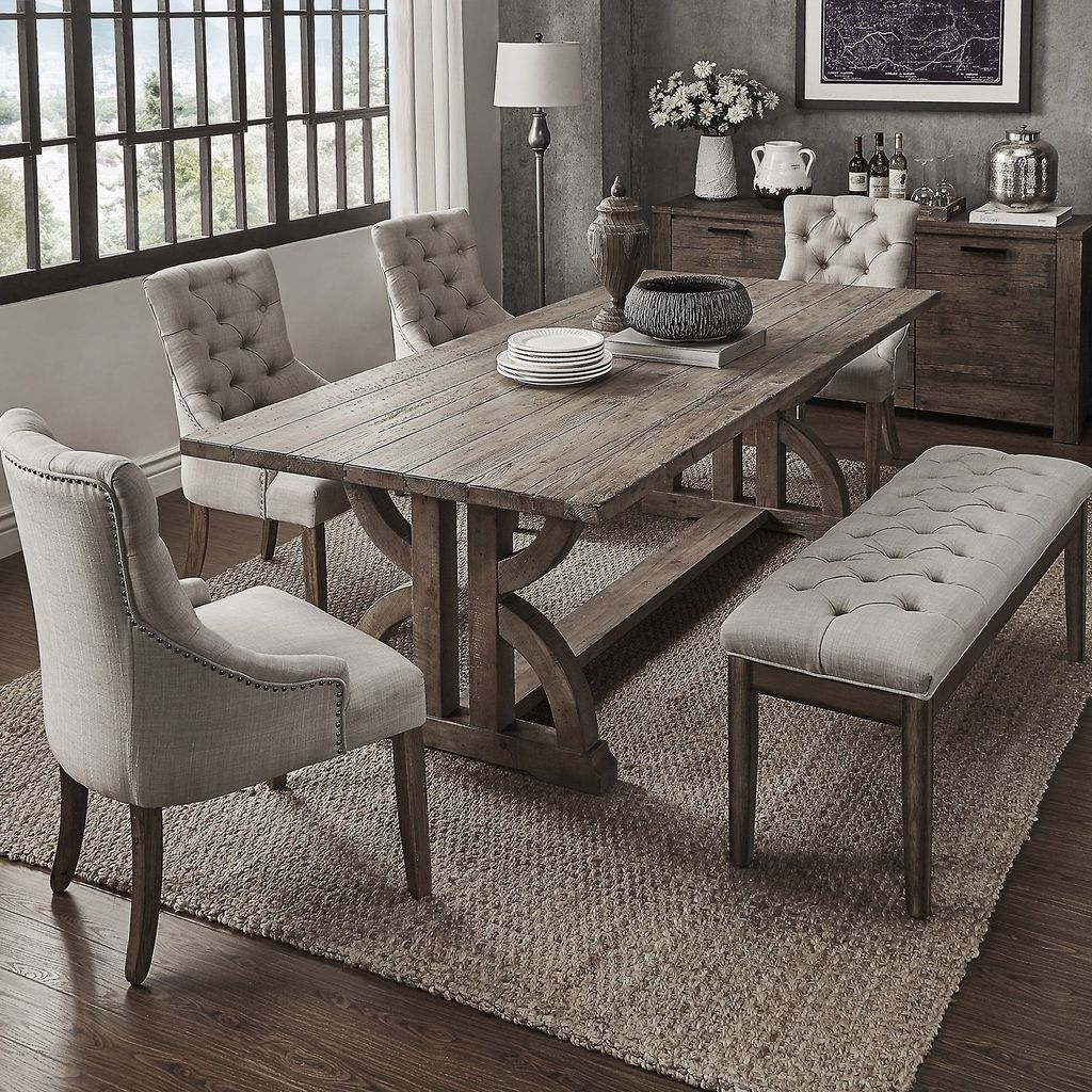 Sweet Romantic Dining Room Decor 06