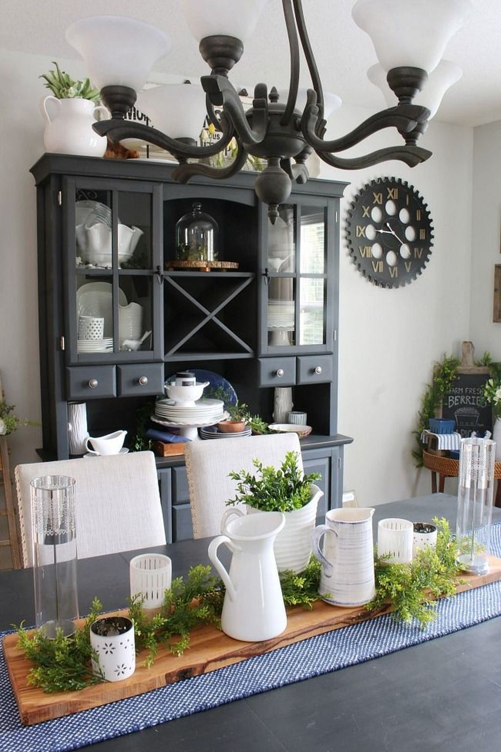 Sweet Romantic Dining Room Decor 22