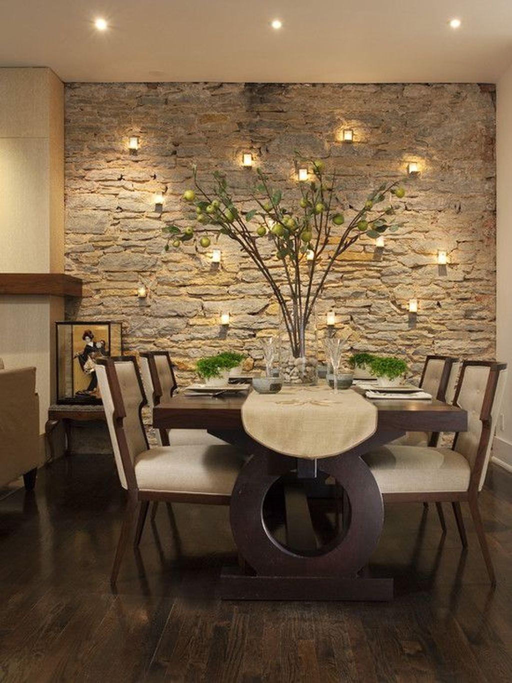 Sweet Romantic Dining Room Decor 25
