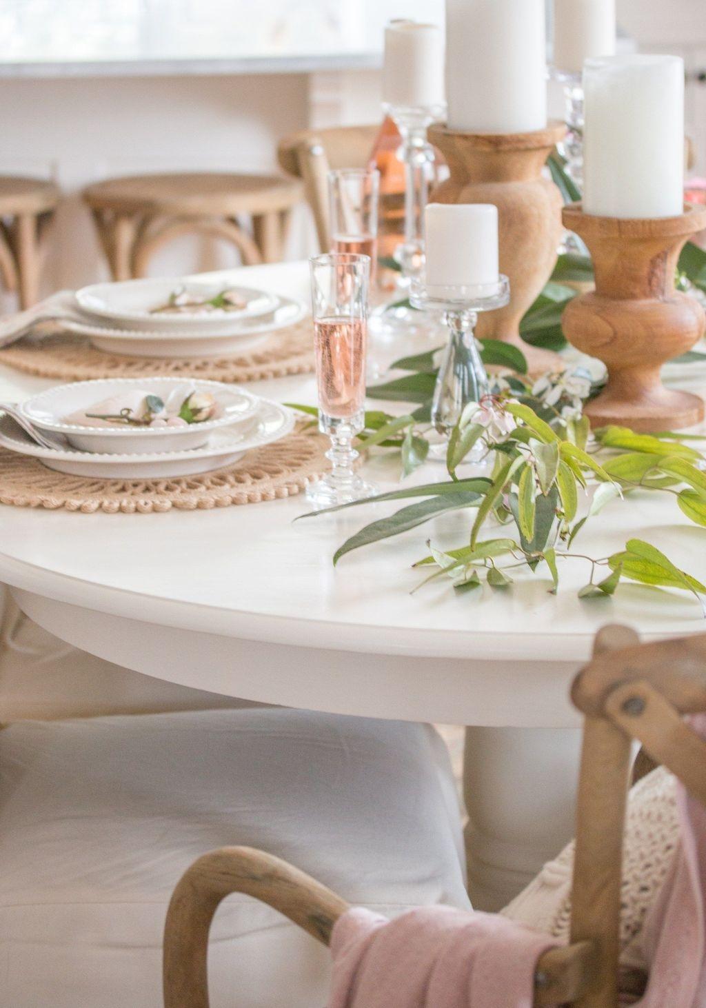 Sweet Romantic Dining Room Decor 42