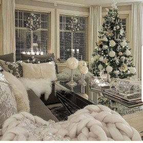 The Best Winter Decoration For Apartment 05