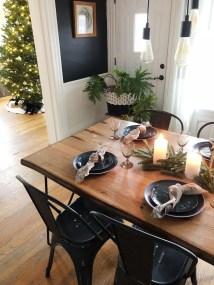 Amazing Rustic Dining Room Design Ideas 03