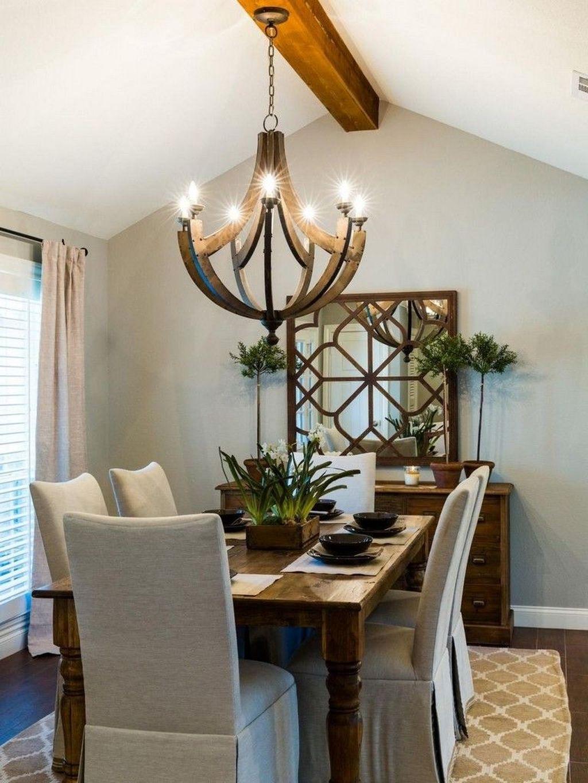 Amazing Rustic Dining Room Design Ideas 05