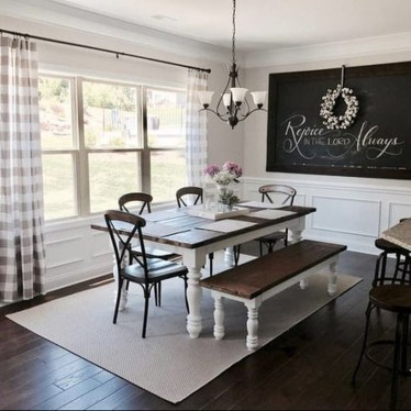 Amazing Rustic Dining Room Design Ideas 07