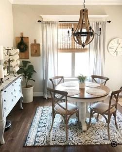 Amazing Rustic Dining Room Design Ideas 39