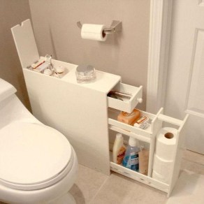 Awesome Hanging Bathroom Storage For Small Spaces 11