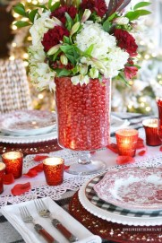 Beautiful Valentines Day Table Decor 39