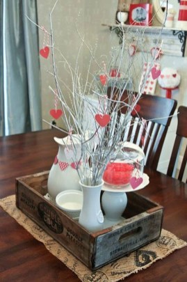 Beautiful Valentines Day Table Decor 43