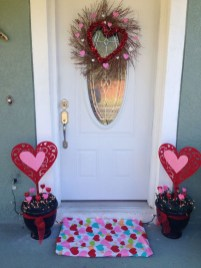 Front Porch Valentines Day Decor With LOVE Word 11