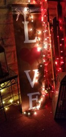 Front Porch Valentines Day Decor With LOVE Word 12