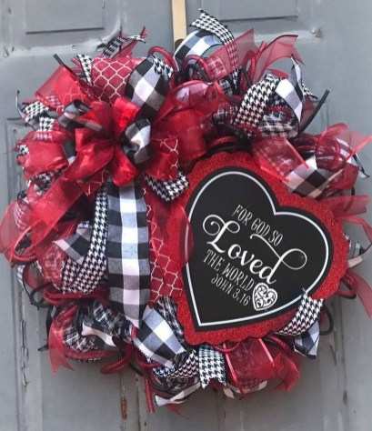 Front Porch Valentines Day Decor With LOVE Word 28