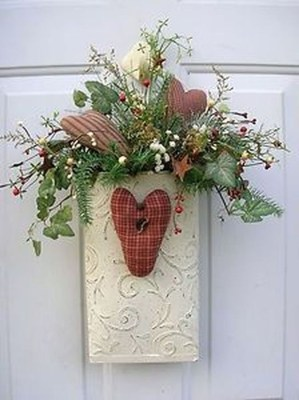Front Porch Valentines Day Decor With LOVE Word 39