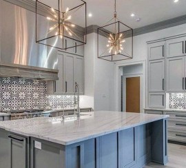 Kitchen Island Design Ideas With Marble Countertops 19