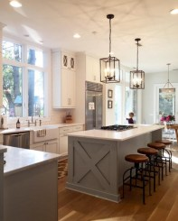 Kitchen Island Design Ideas With Marble Countertops 21
