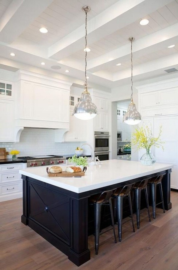 Kitchen Island Design Ideas With Marble Countertops 38