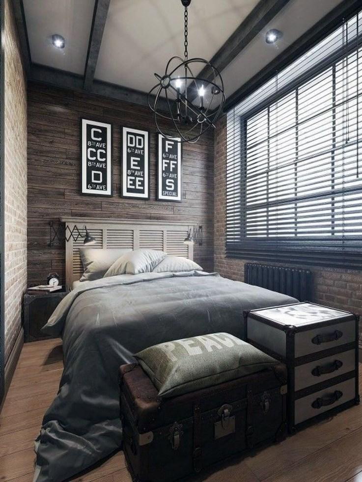 Luxury Modern Man Bedroom Design Ideas 11