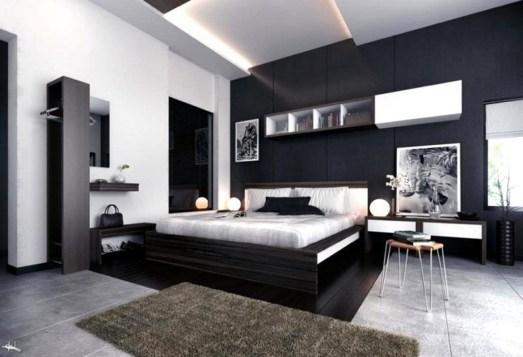 Luxury Modern Man Bedroom Design Ideas 24