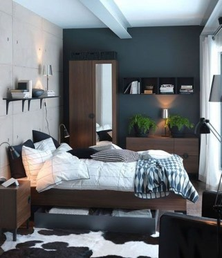 Luxury Modern Man Bedroom Design Ideas 48