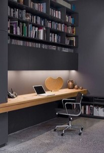 Modern Home Office Idea That Easily Implemented 01