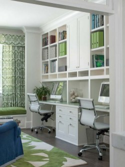 Modern Home Office Idea That Easily Implemented 06