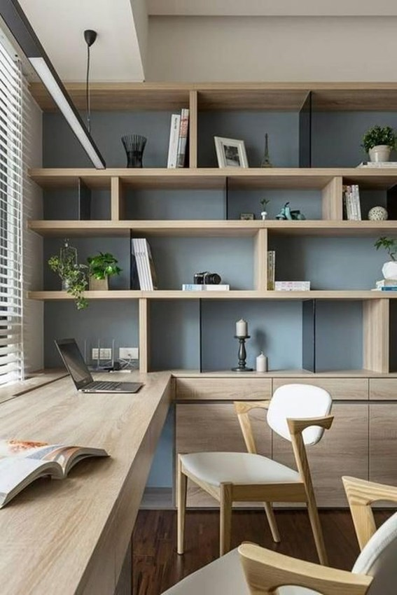 Modern Home Office Idea That Easily Implemented 23