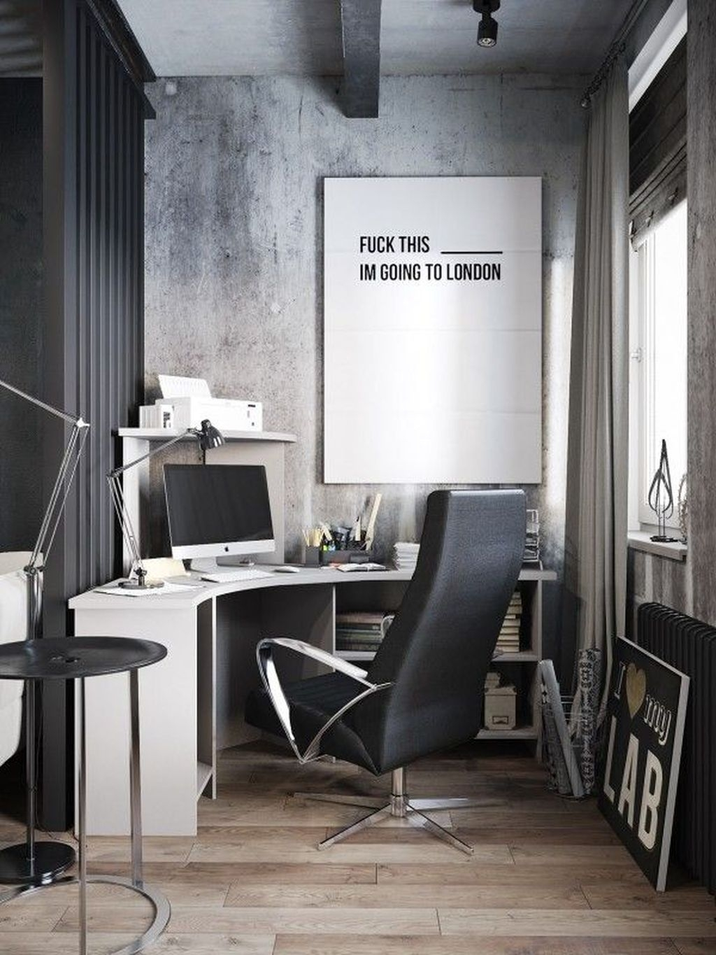 Modern Home Office Idea That Easily Implemented 36