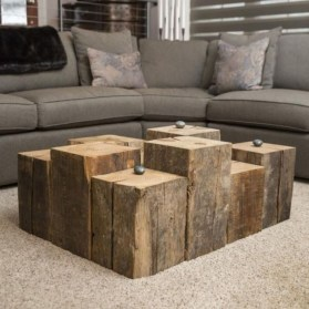 Nice Looking DIY Coffee Table 25