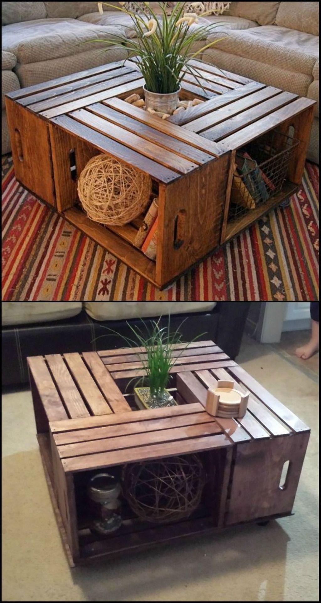 Nice Looking DIY Coffee Table 30