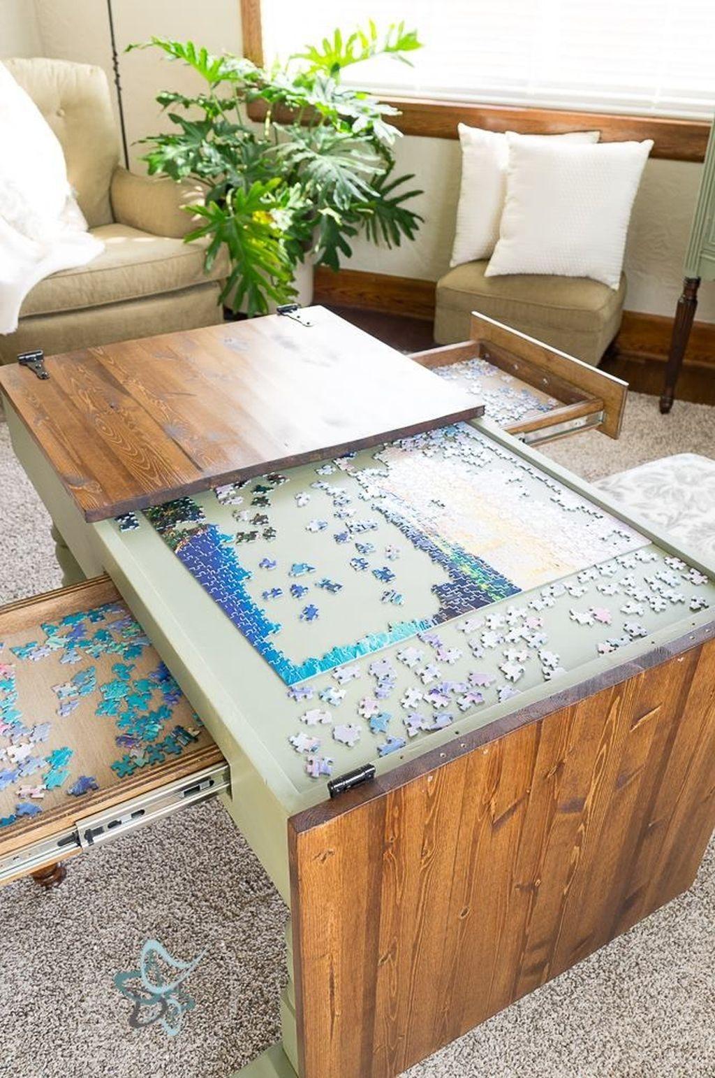 Nice Looking DIY Coffee Table 31