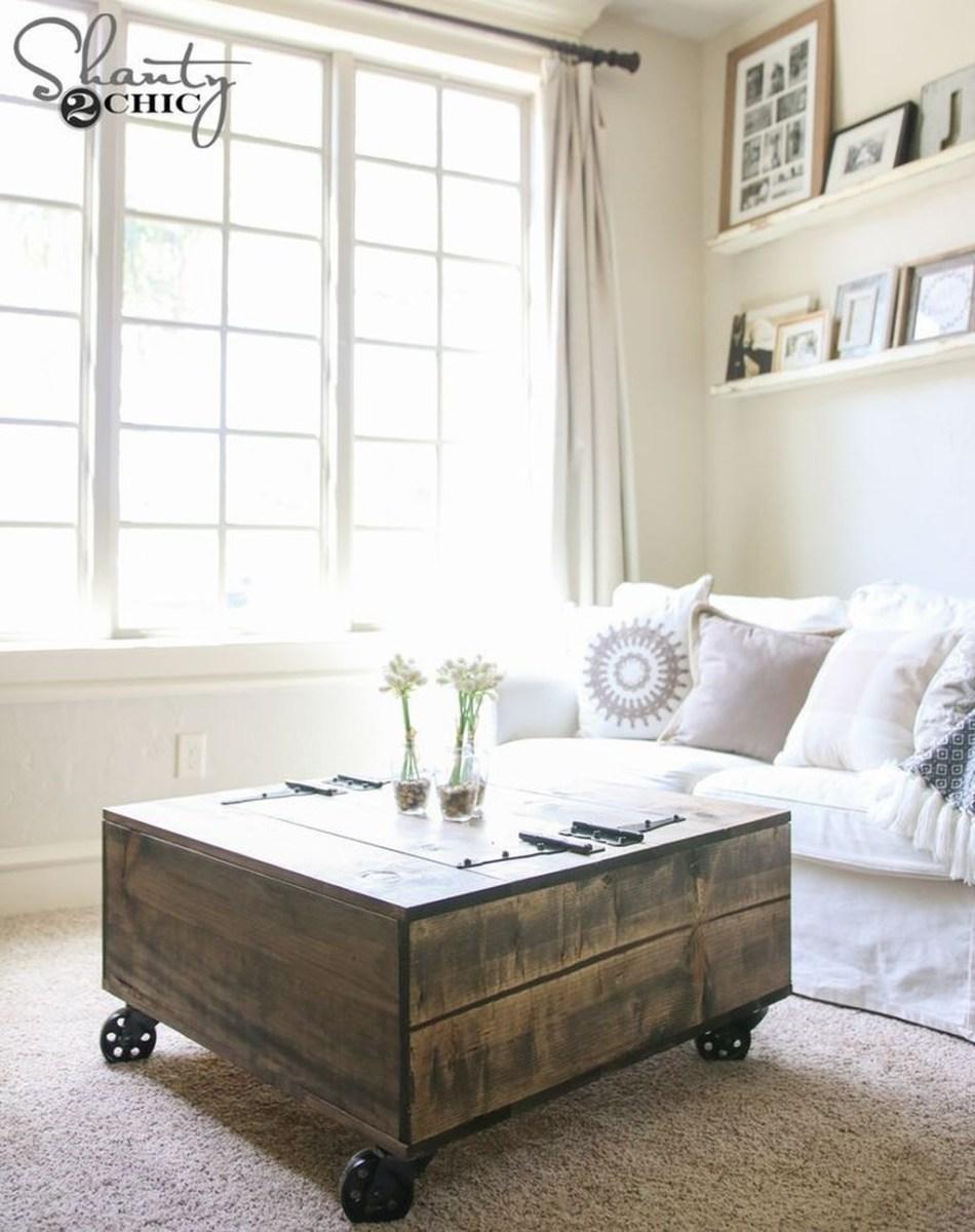Nice Looking DIY Coffee Table 32