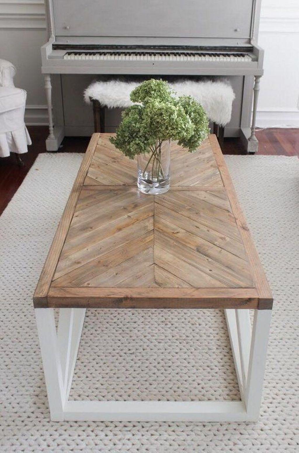 Nice Looking DIY Coffee Table 33