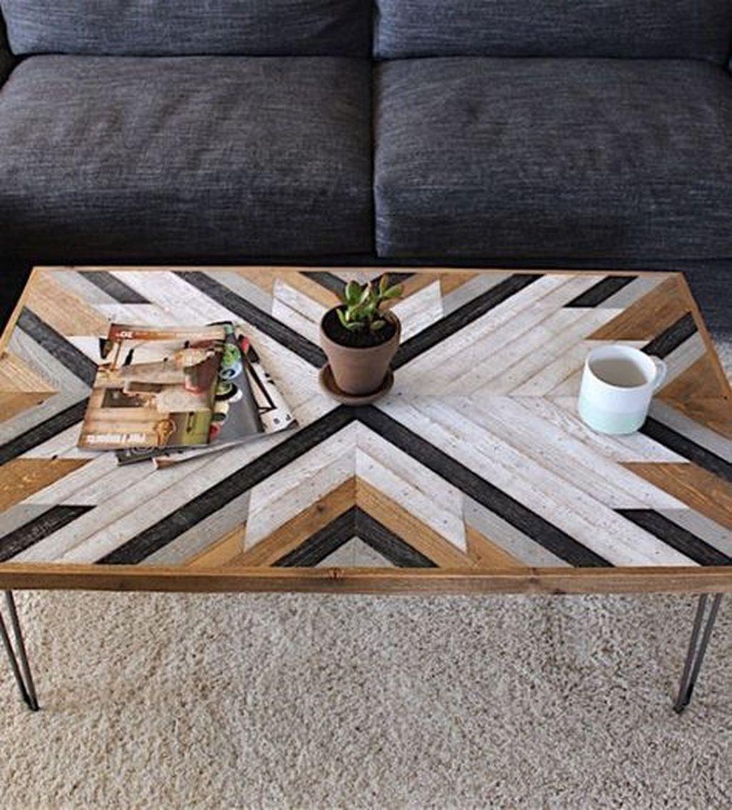 Nice Looking DIY Coffee Table 34