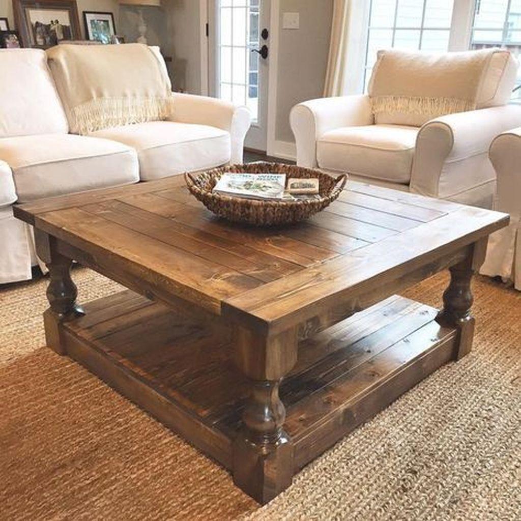 Nice Looking DIY Coffee Table 35
