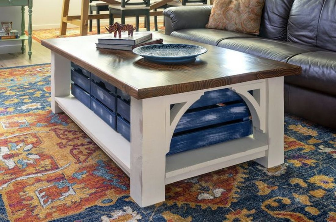 Nice Looking DIY Coffee Table 49