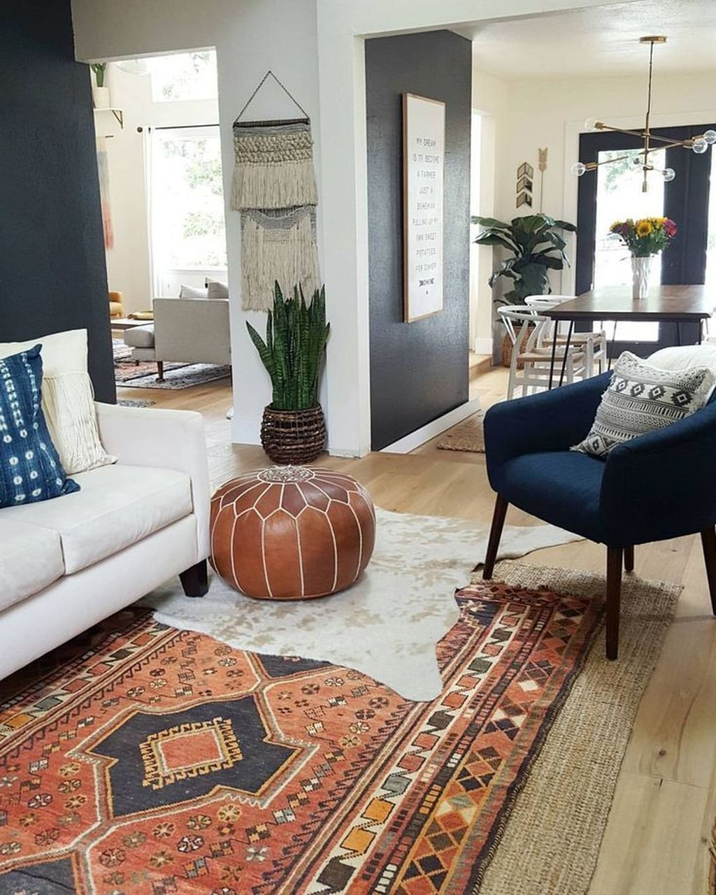 Perfectly Bohemian Living Room Design Ideas 17