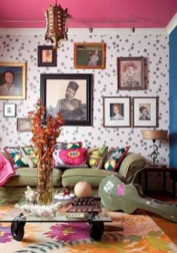 Perfectly Bohemian Living Room Design Ideas 20