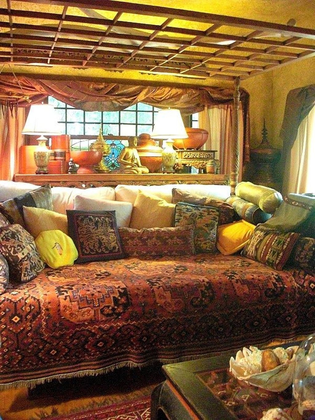 Perfectly Bohemian Living Room Design Ideas 23