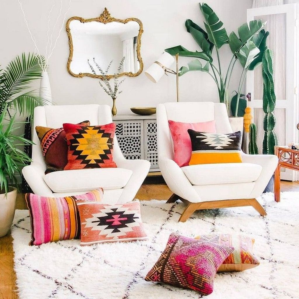 Perfectly Bohemian Living Room Design Ideas 32