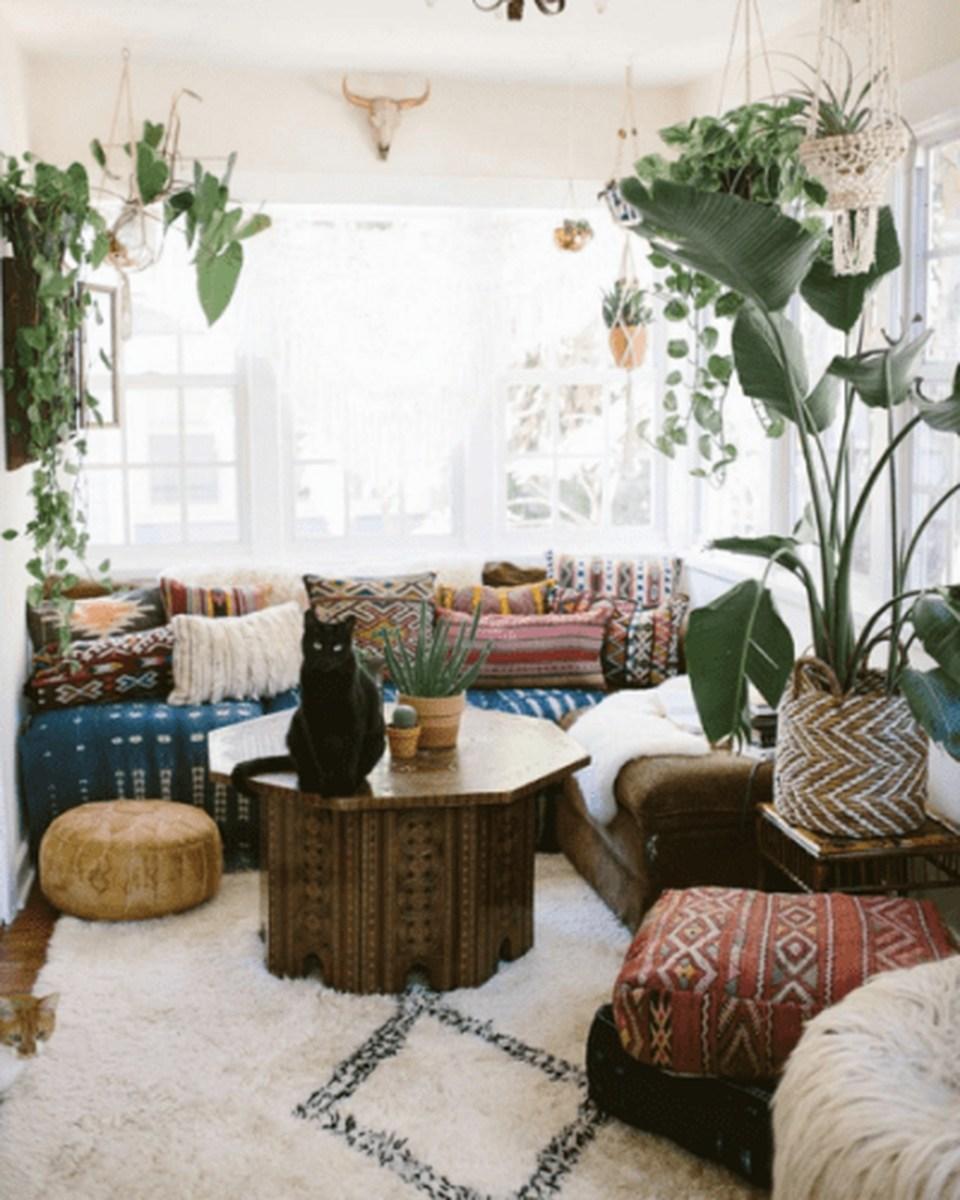 Perfectly Bohemian Living Room Design Ideas 33