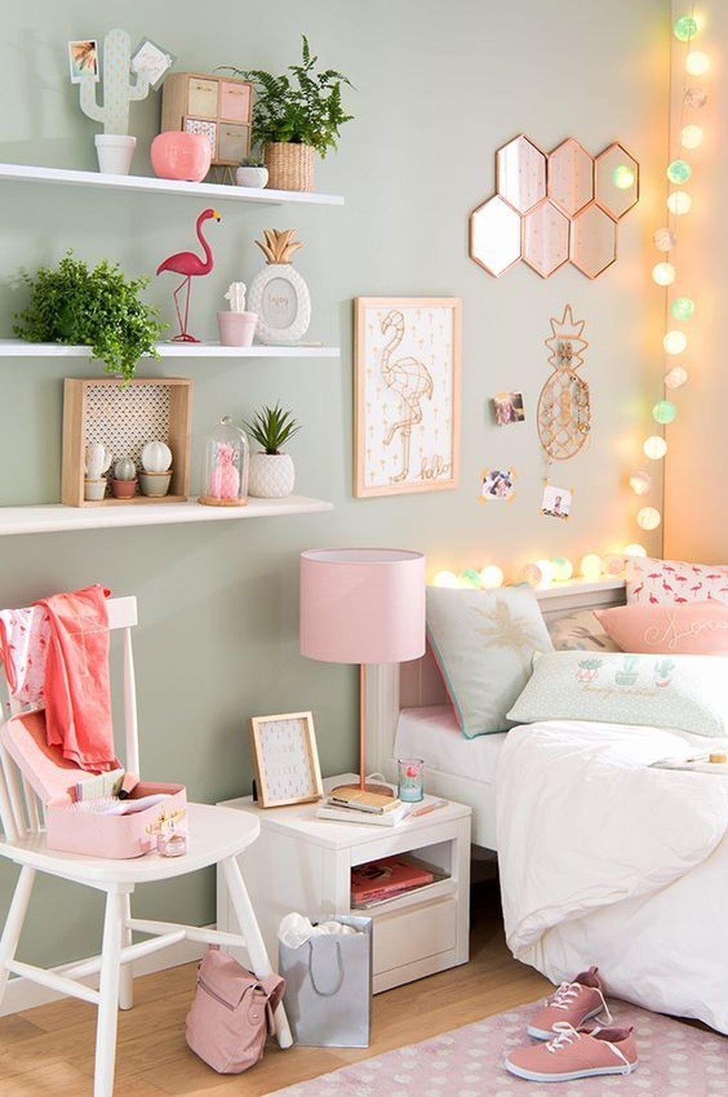 Pink Bedroom Decor You Can Try On Your Own 23