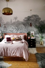 Pink Bedroom Decor You Can Try On Your Own 38
