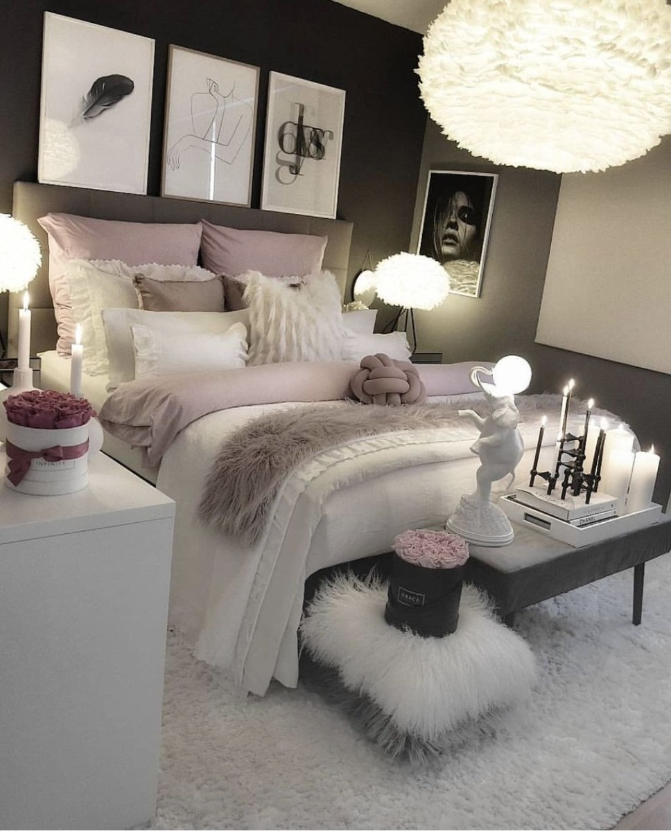 Pink Bedroom Decor You Can Try On Your Own 42